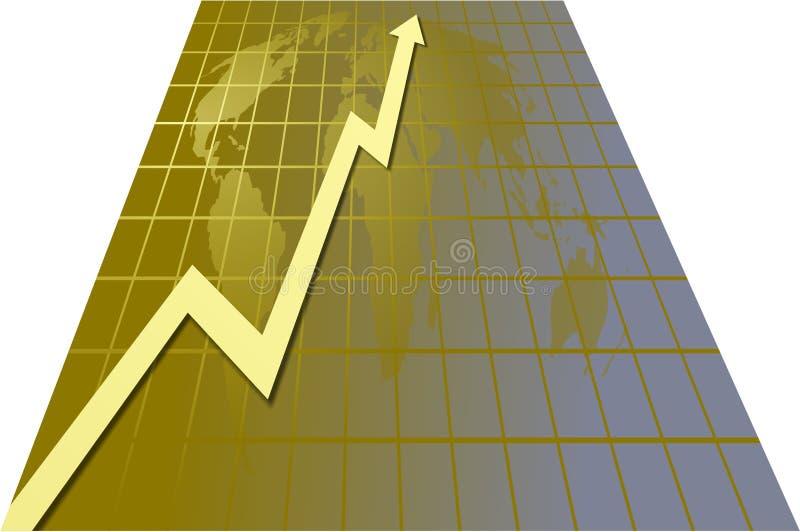 Download World Chart stock illustration. Illustration of positive - 100008