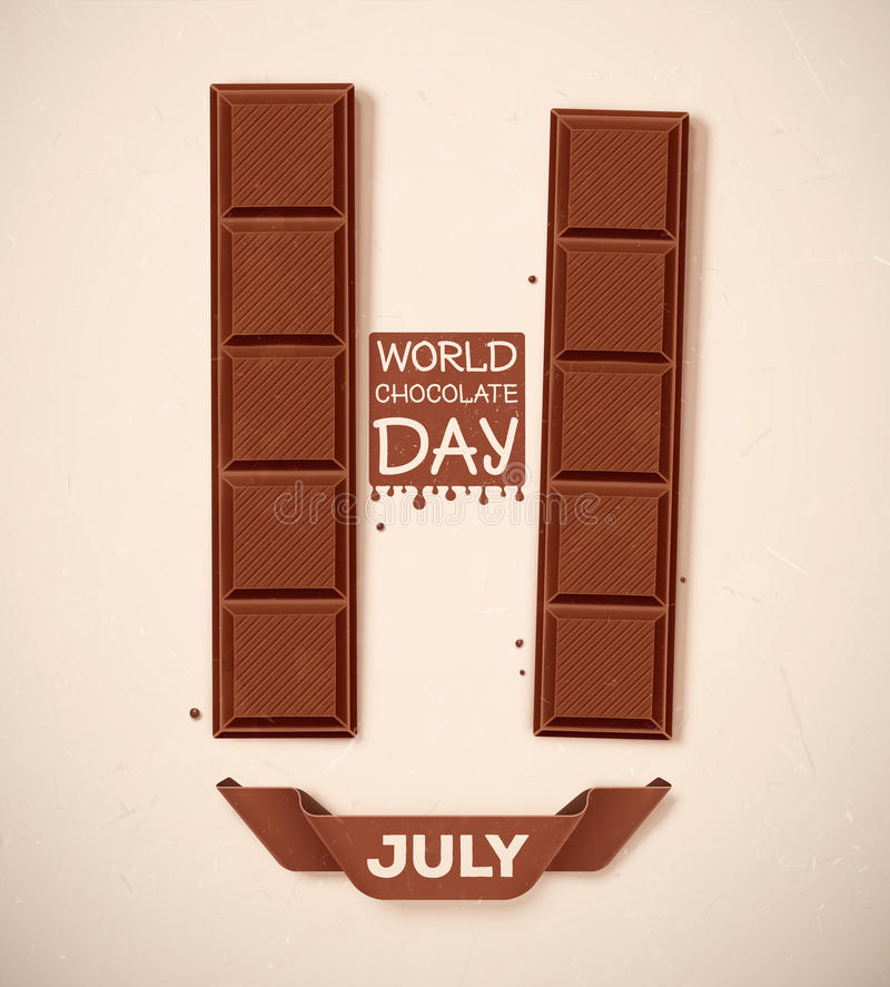 Free World Chocolate Day Stock Photos - 49409563