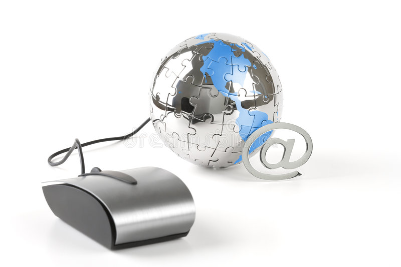 Download The world in a click stock photo. Image of contact, office - 4721968