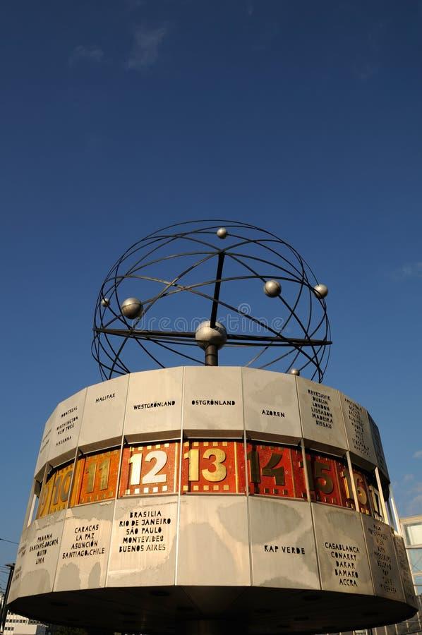World Clock In Berlin Editorial Stock Image