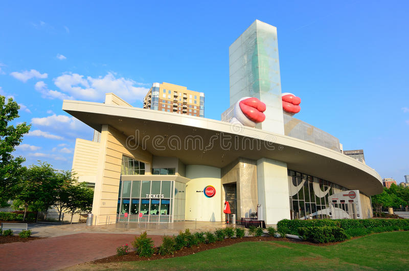 World Of Coca-Cola stock photography