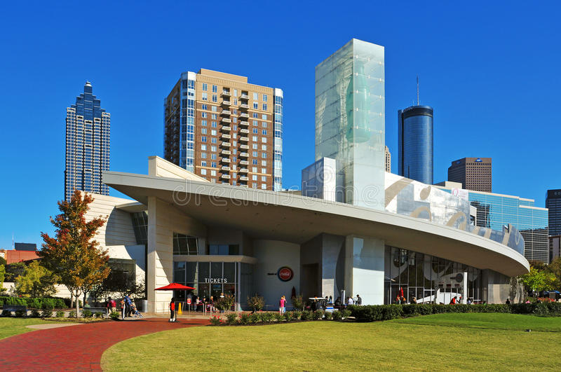 The World of Coca-Cola, Atlanta, United States stock photography