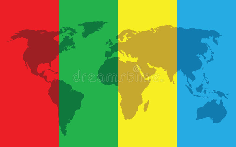 World Color Background Stock Photo