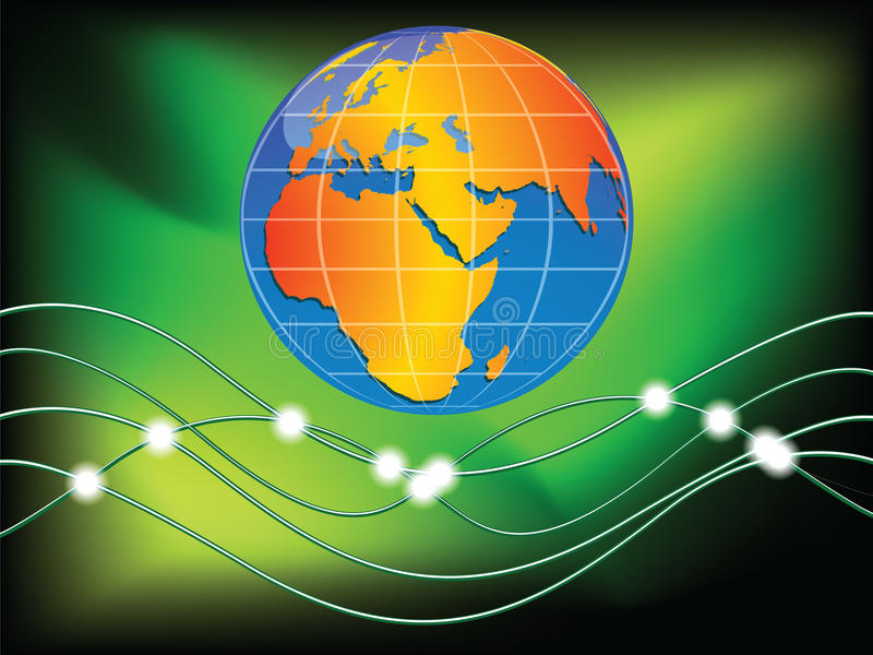 Download World communication stock vector. Image of modern, atlantic - 16830568