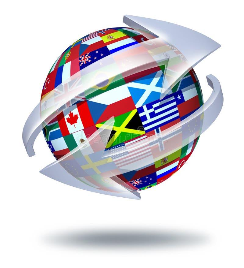 World Communications stock illustration