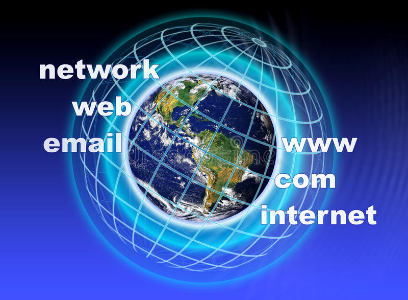 Download World Communications stock illustration. Image of wide - 29690791