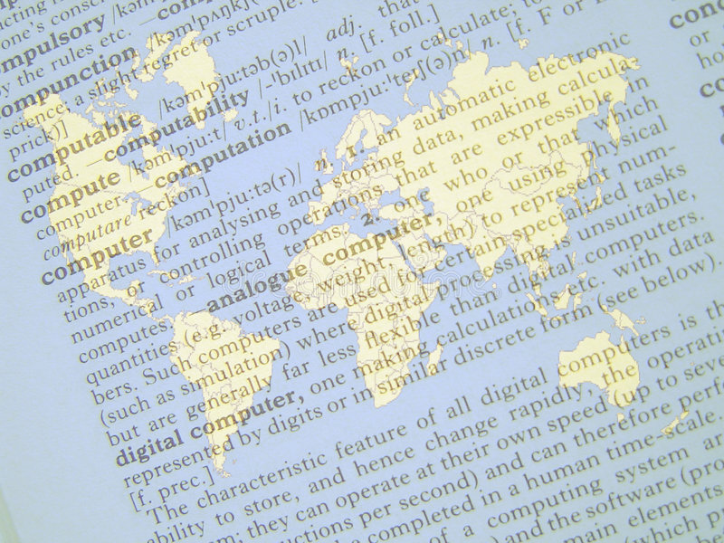 Download The World of Computers stock illustration. Illustration of overlap - 136457