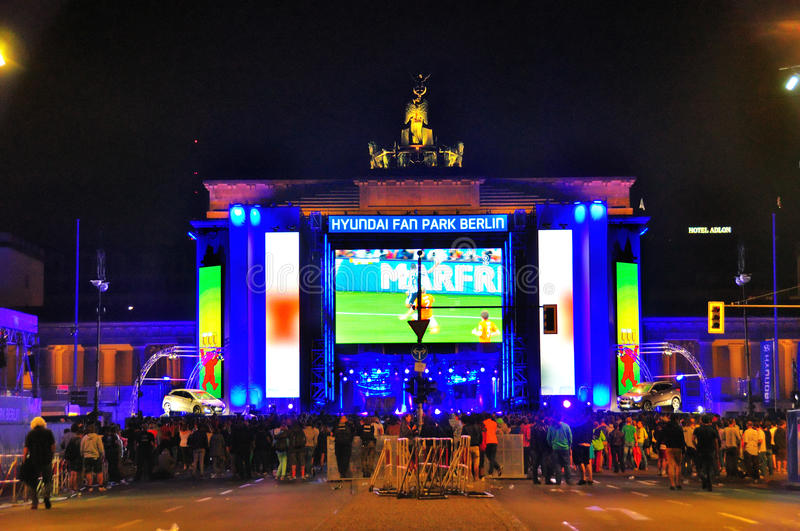 Download World Cup 2014, Berlin Germany Editorial Stock Image - Image: 43079969
