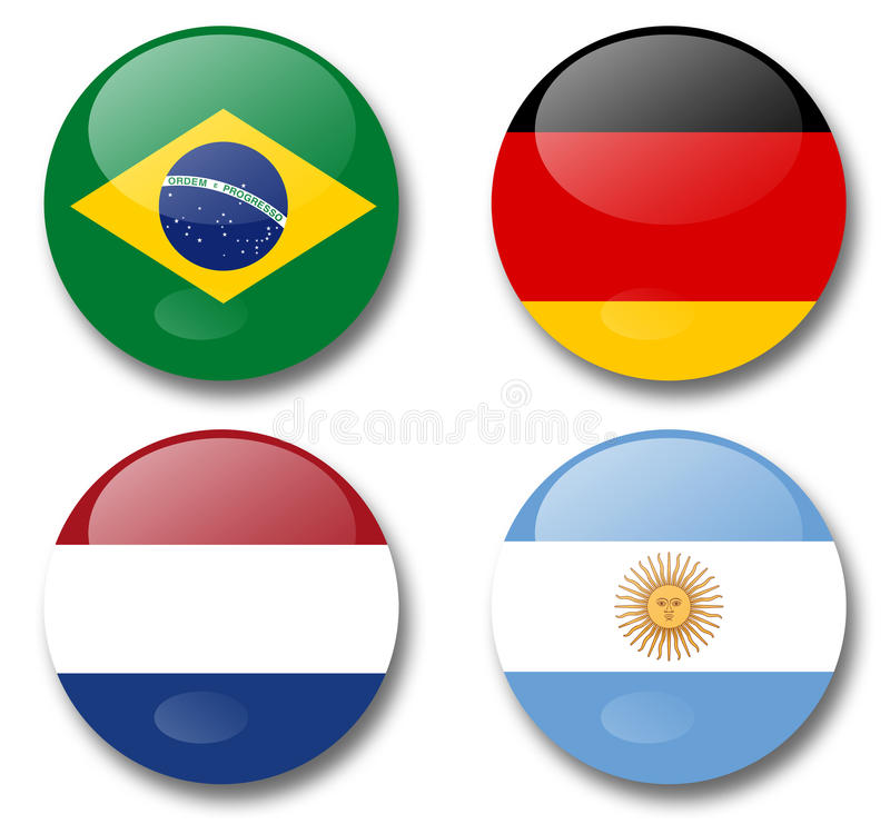 Download World cup brazil 2014 stock image. Image of button, football - 42225621
