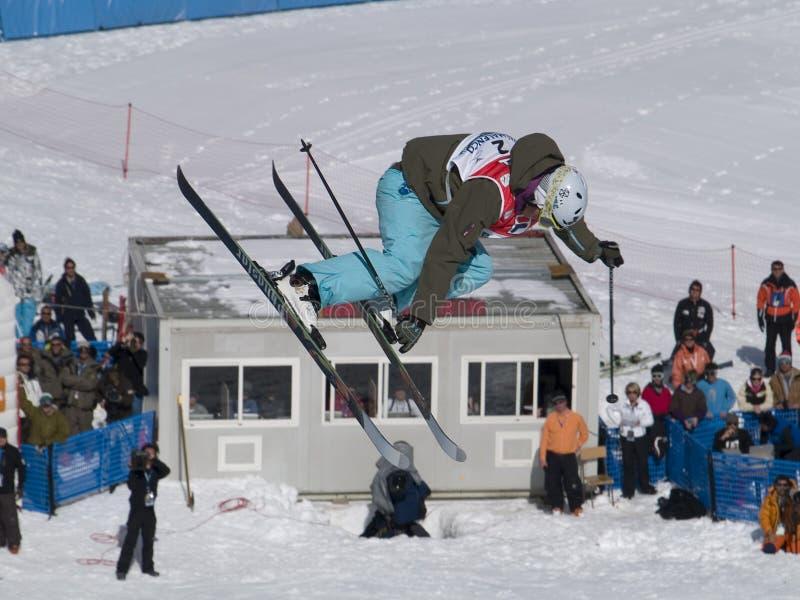 World Cup Freestyle Ski Editorial Photo