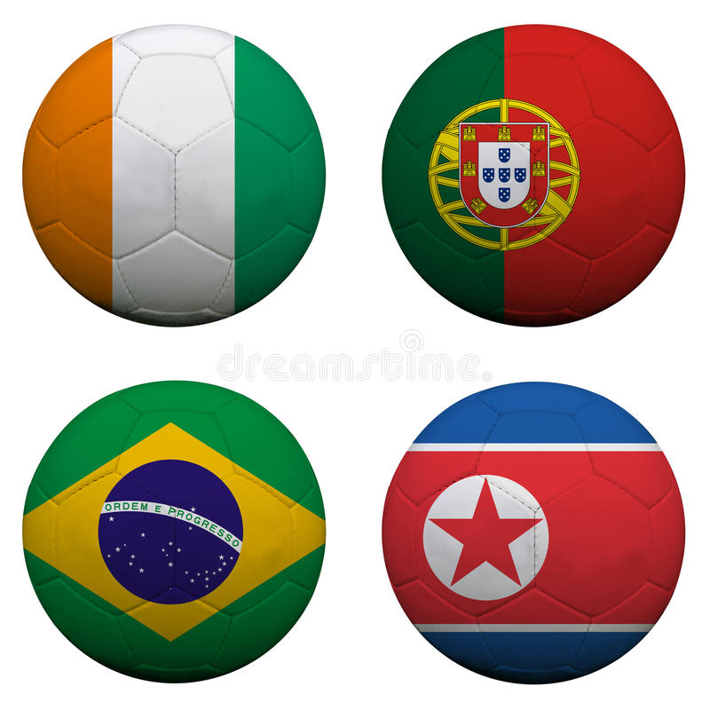 Free World Cup Group G Royalty Free Stock Image - 14129616