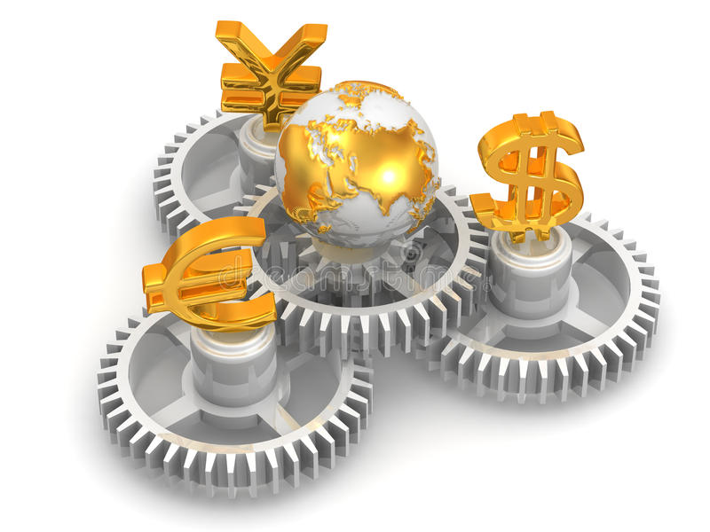 Download World currency stock illustration. Image of investment - 10722172