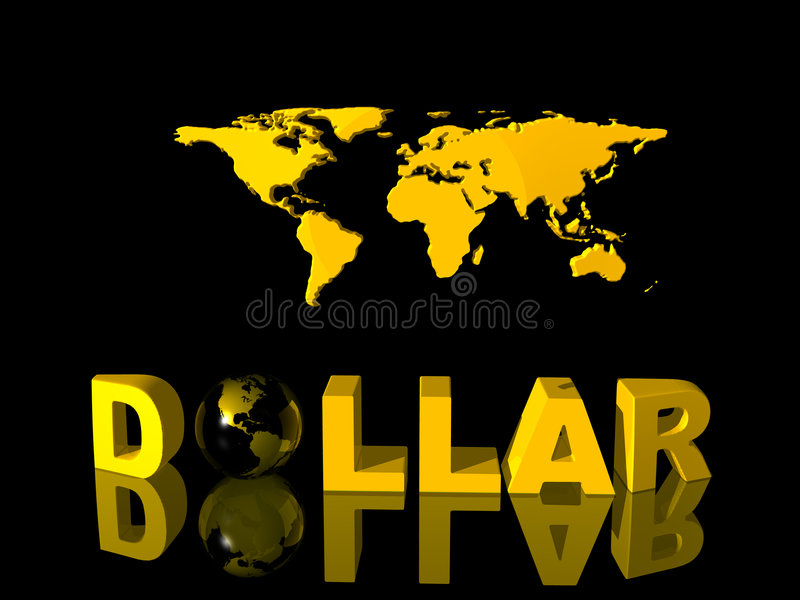 Download World currency, dollar. stock illustration. Image of conceptual - 808106
