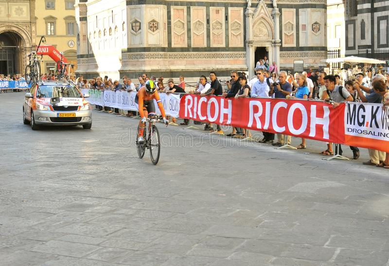 World Cycling Championship In Florence, Italy Editorial Image