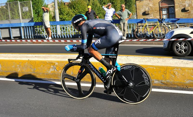 World cycling championship in Florence, Italy stock photography