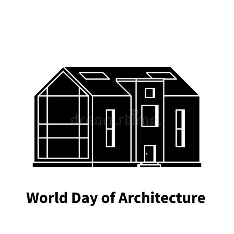World day of architecture stock images