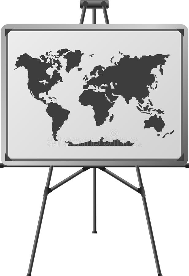 Download World in easel stock vector. Illustration of picture - 18428258