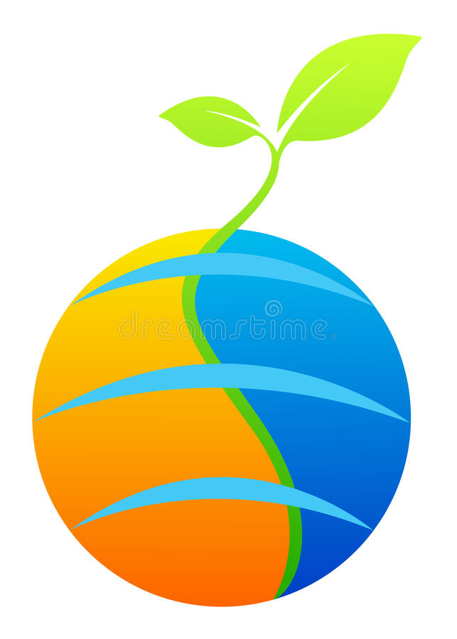 Download World ecology stock vector. Image of colorful, clip, botany - 24426565