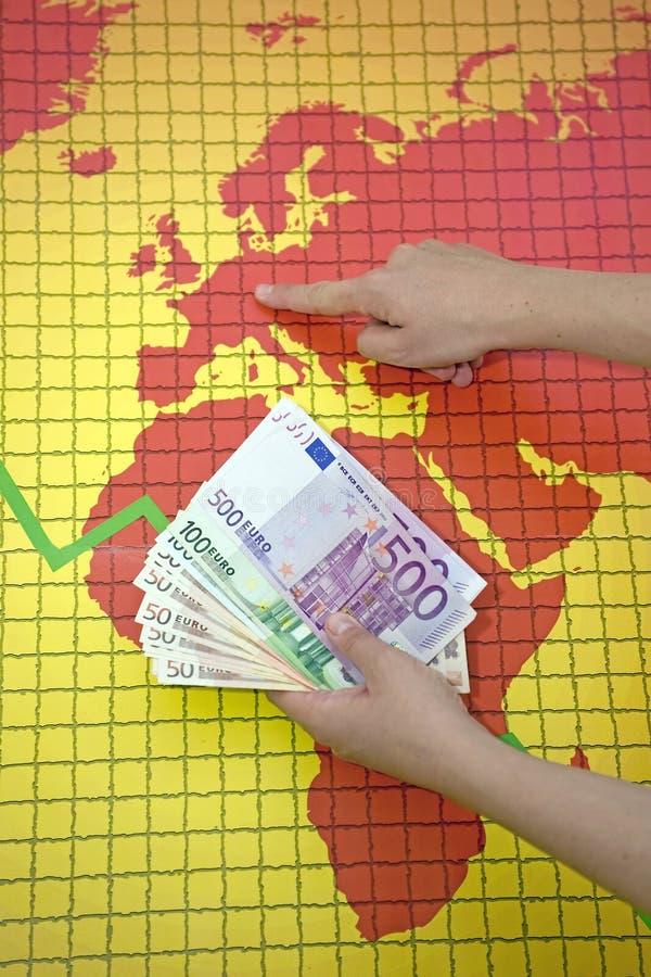 Download World Economic Crisis - Money In Hand Stock Image - Image: 21554687