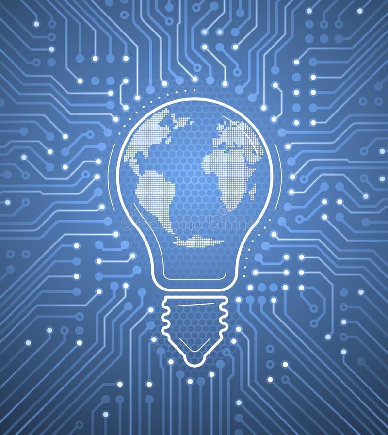 World Electricity vector illustration