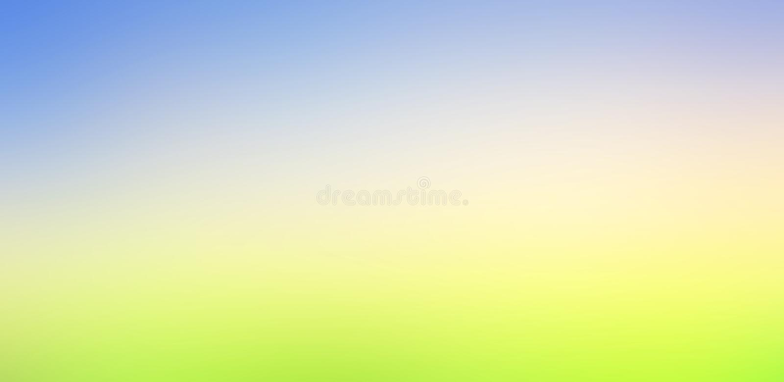 World environment day concept: Sun light and abstract blurred autumn sunrise background royalty free stock image