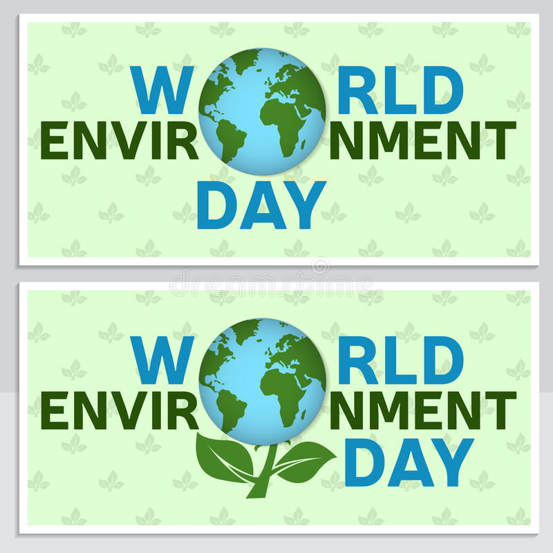 World Environment Day Greeting Card, Flyer. World