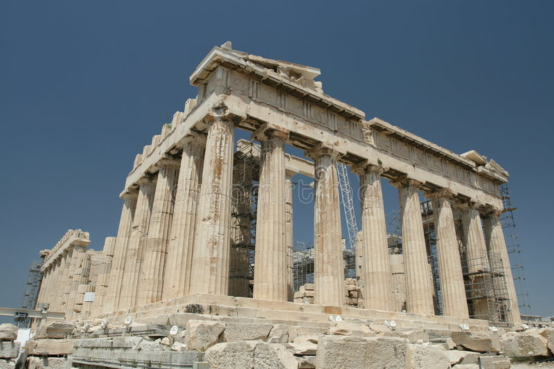 Download World Famous Parthenon stock photo. Image of archeology - 5791748