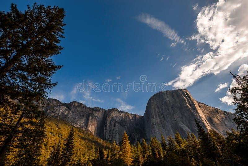 El Capitan, Yosemite national park. World famous rock climbing wall of El Capitan, Yosemite national park, California, usa stock photos