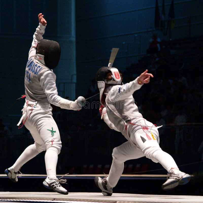 World Fencing Championship 2006 - Granbassi royalty free stock image