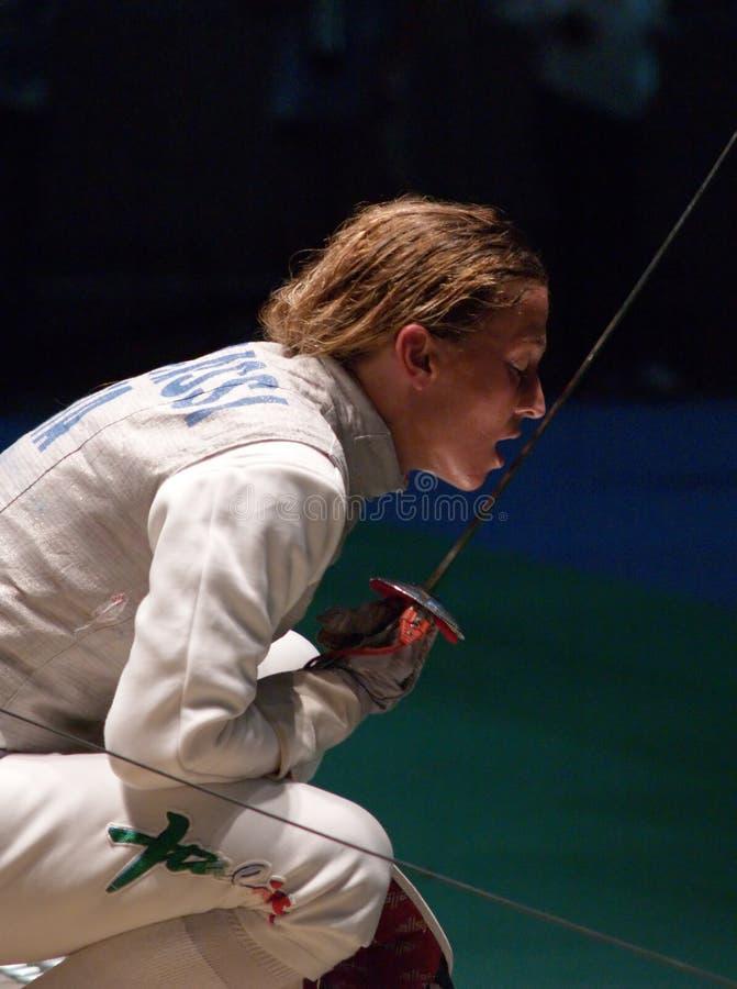 World Fencing Championship 2006 - Granbassi stock photography