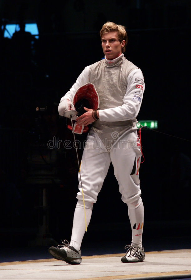 World Fencing Championship 2006 - Joppich royalty free stock photos
