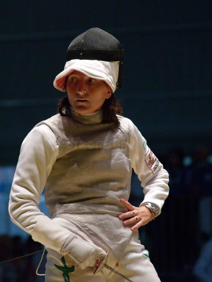 World Fencing Championship 2006 - Trillini stock photo