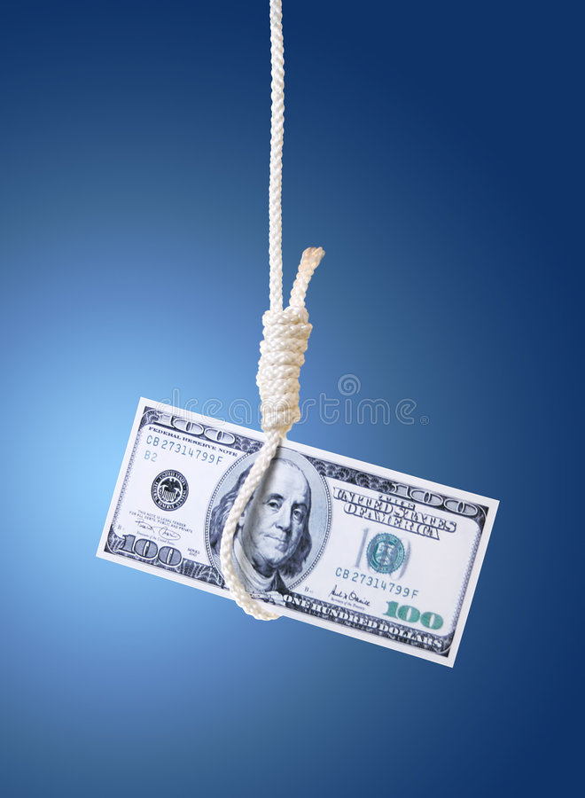 World financial crisis royalty free stock image