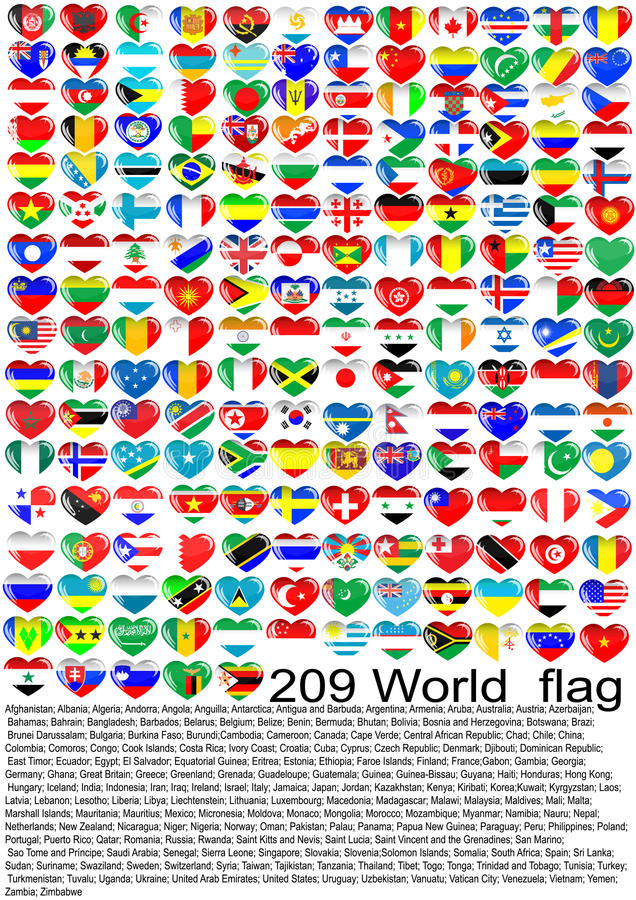 Download World_flag stock vector. Image of germany, blue, flags - 14912911
