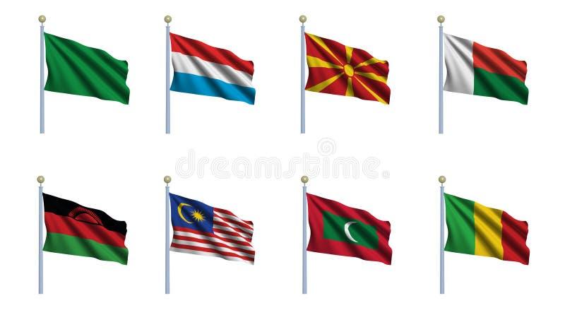 World Flag Set 14