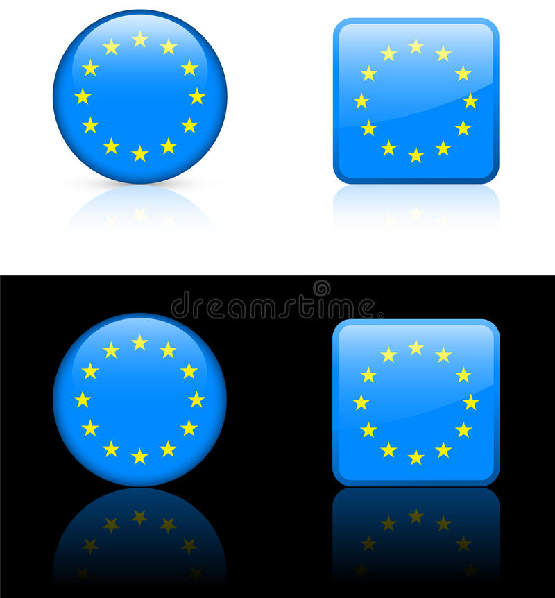 World Flags: European Union Royalty Free Stock Photography