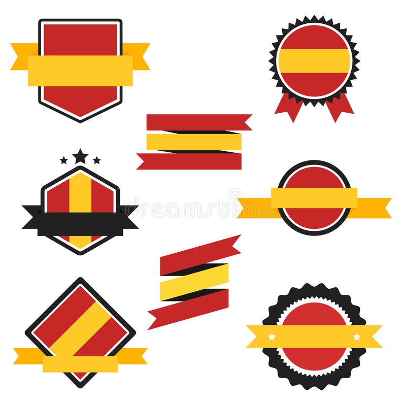 world flags series vector flag of spain stock vector rh dreamstime com spain flag logo meaning spain flag without logo