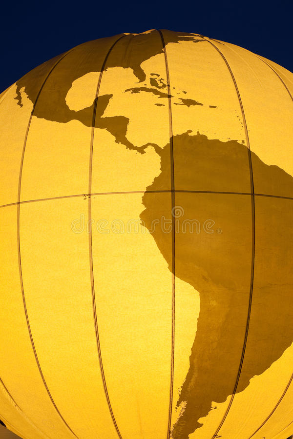 Download World Globe stock photo. Image of continent, south, world - 15177668