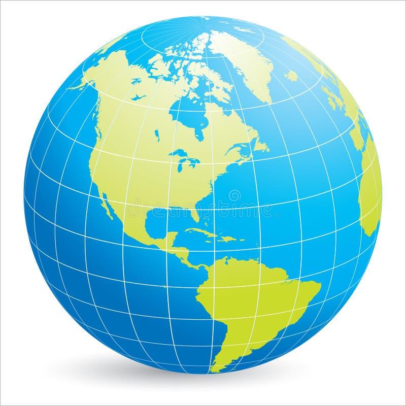 Download World globe stock illustration. Illustration of illustrated - 25838823