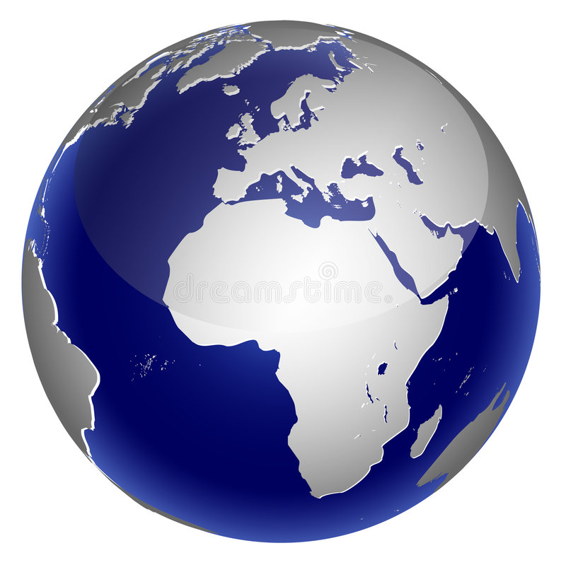 Download World globe stock vector. Image of background, icon, equator - 9036050