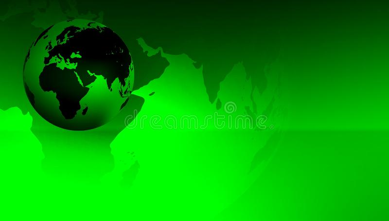 World Globe Background. vector illustration. technology communication . stock illustration
