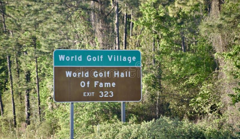 World Golf Village, St. Augustine, Florida royalty free stock photography