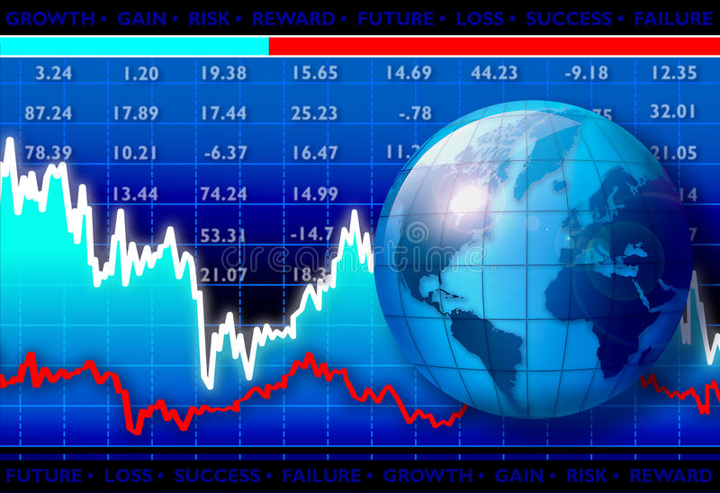 Download World Growth stock illustration. Image of commission - 14017884
