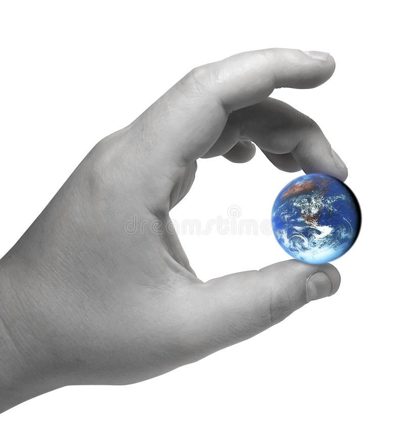 Download World in hand stock image. Image of human, terra, beings - 470837