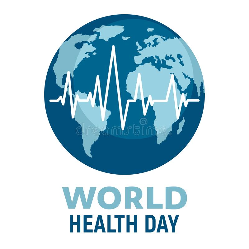 World Health Day vector poster stock images