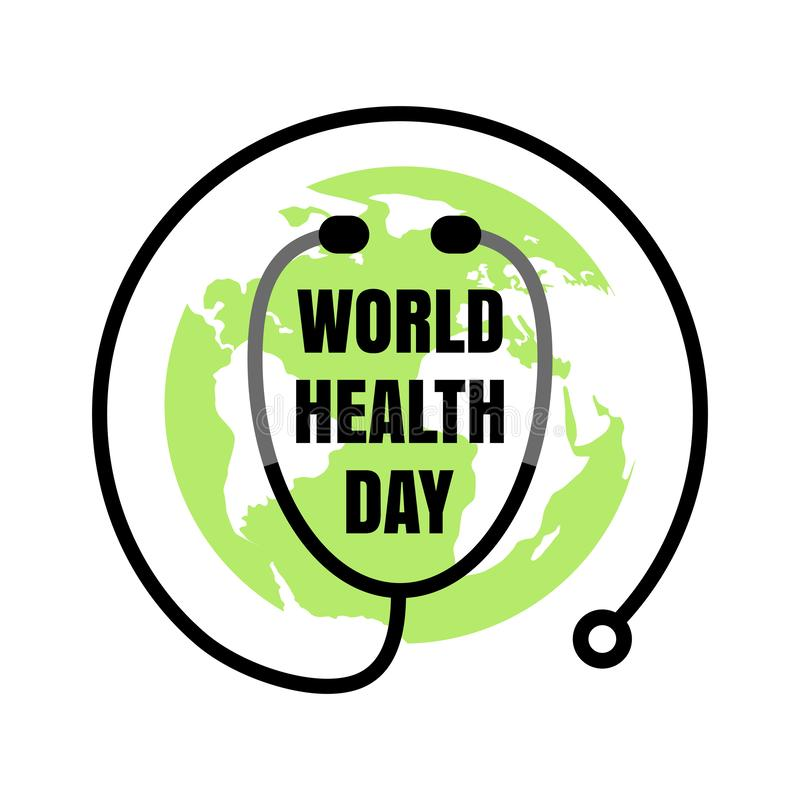 World Health Day Concept, Medicine and Healthcare Symbol vector illustration
