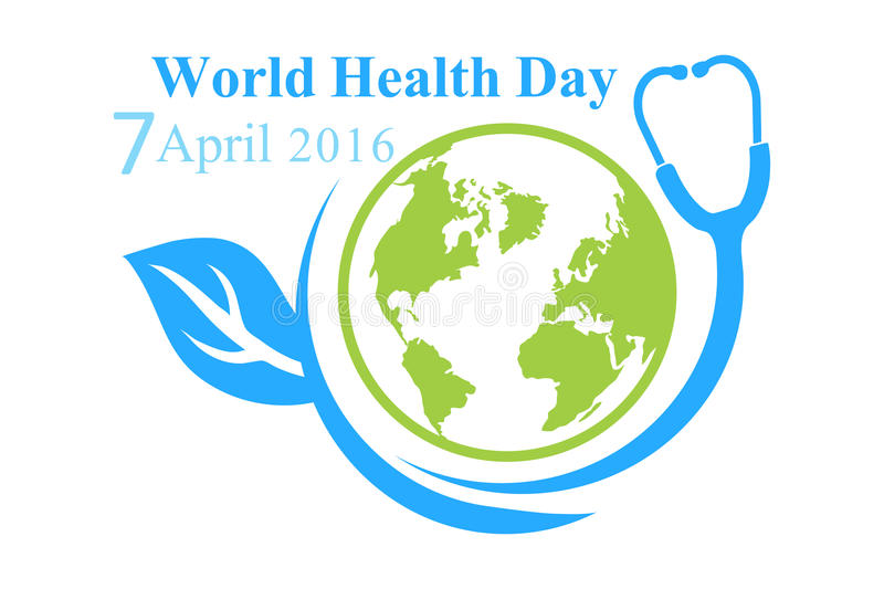 The Logo Of World Health Day With Image A Planet