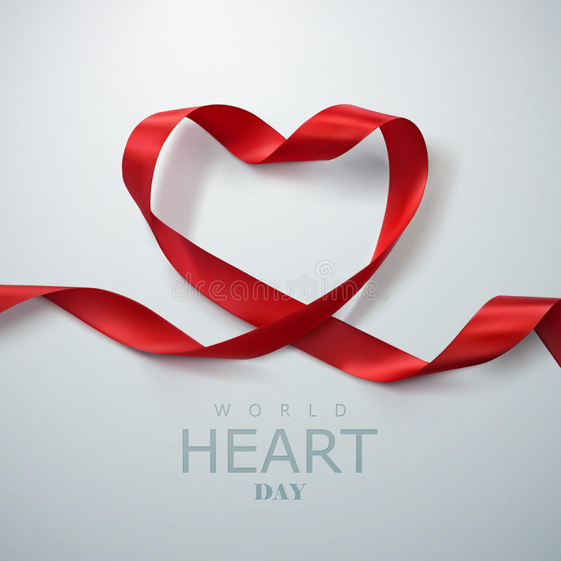 World Heart Day Background. vector illustration