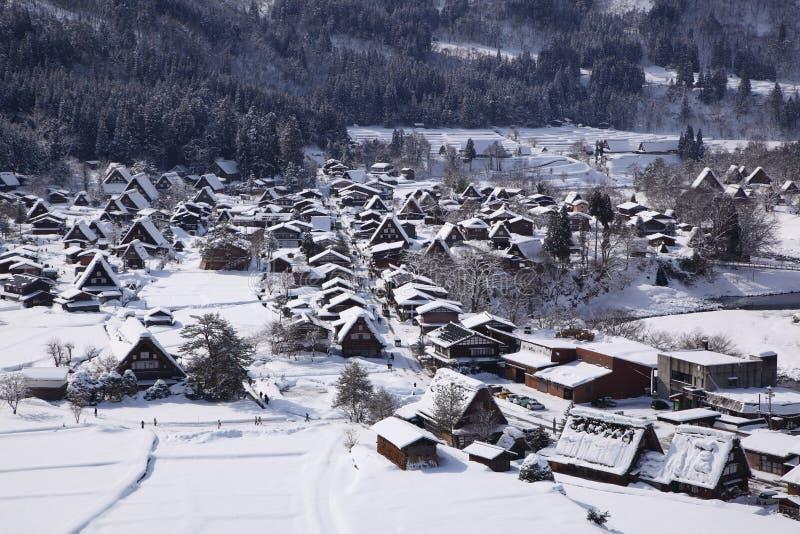 Historic Village of Shirakawago stock images
