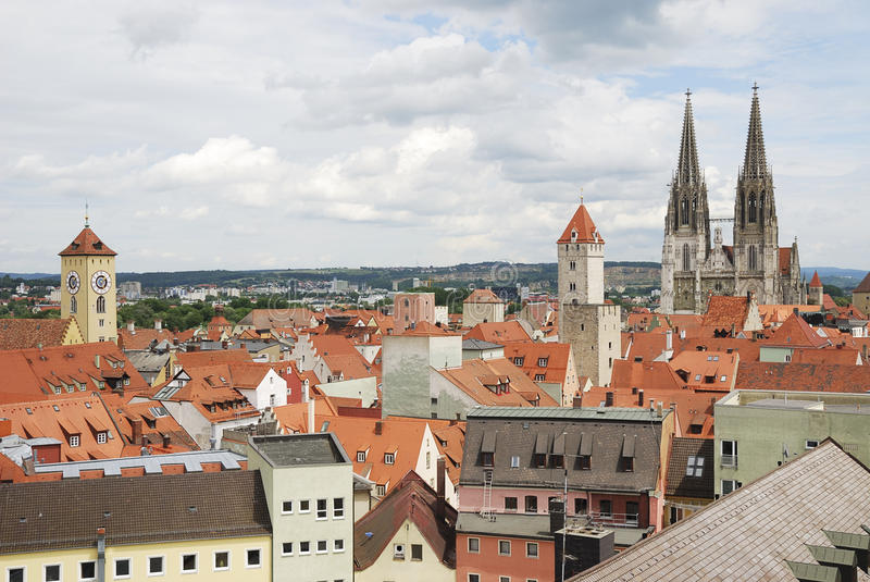 Download World Heritage Site Regensburg Stock Photo - Image of germany, gothic: 20976566